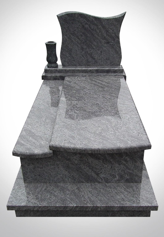 Marmurowy nagrobek z donicą - Nagrobki Bielsko-Biała