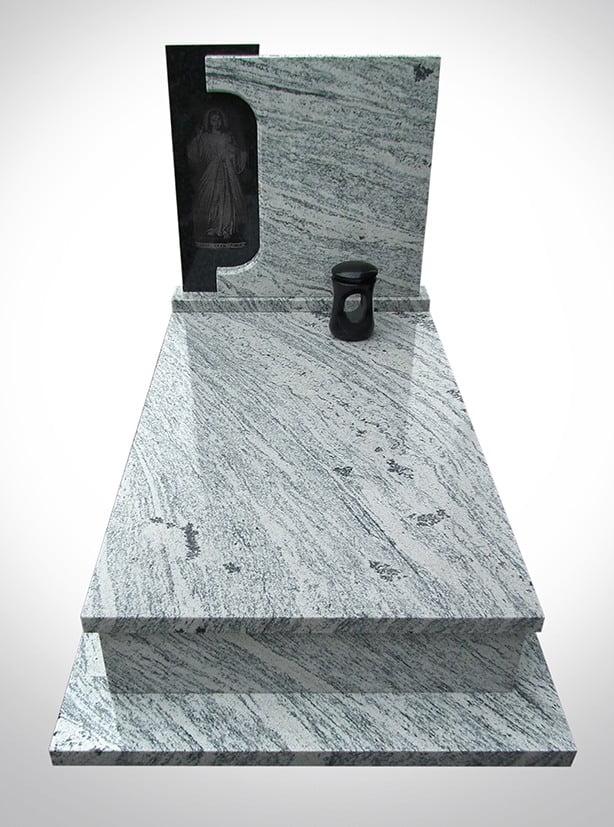Przykładowy marmurowy nagrobek - Nagrobki Bielsko-Biała\