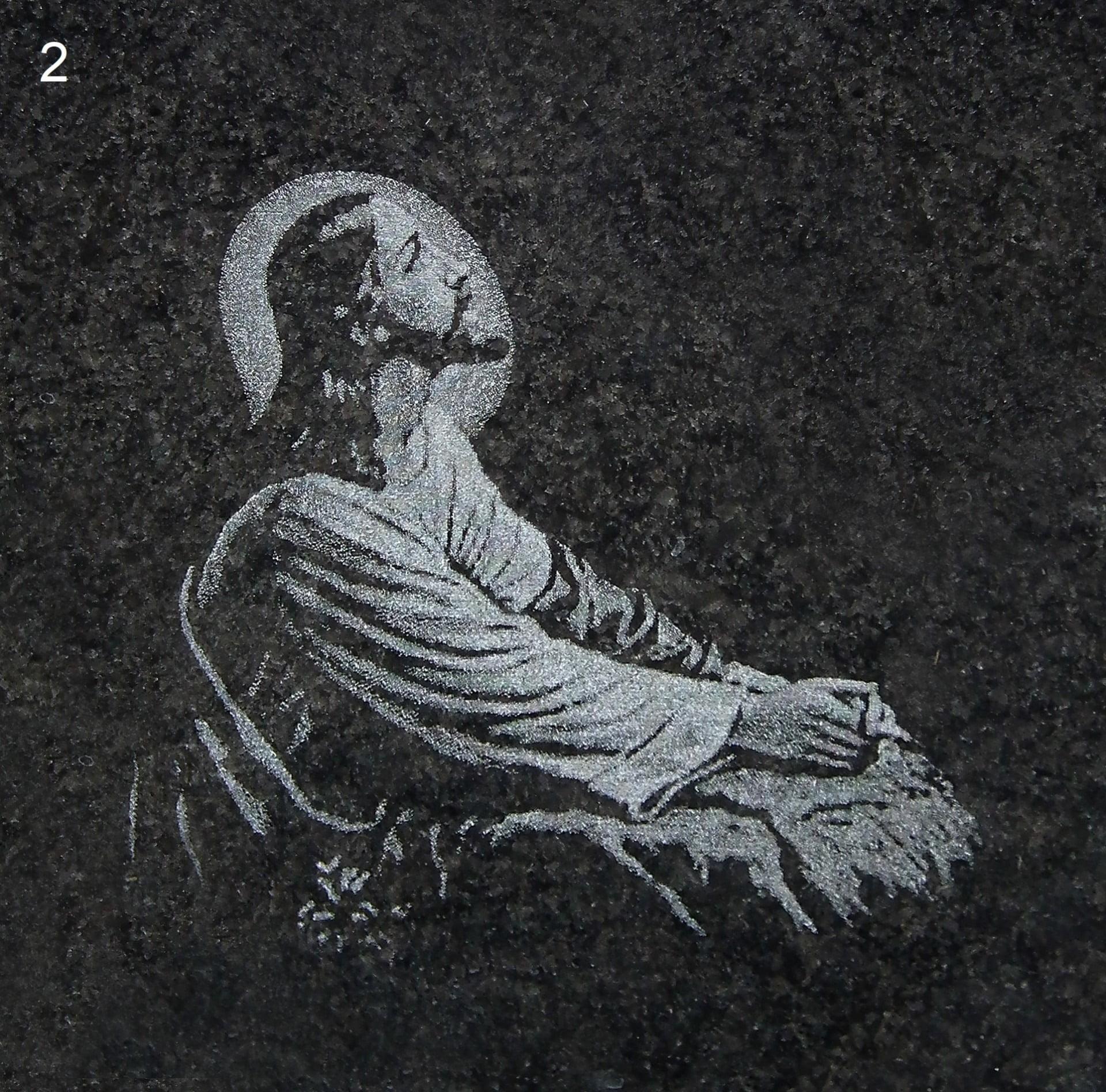 Grawer Jezusa - Nagrobki Bielsko-Biała