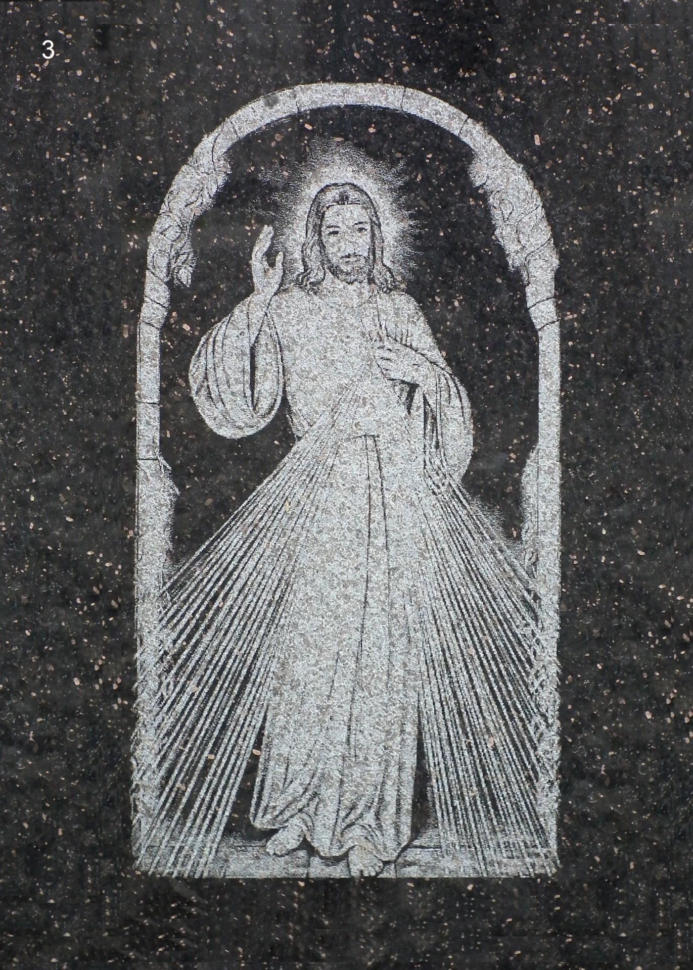 Jezus z martwych wstały - Nagrobki Bielsko-Biała