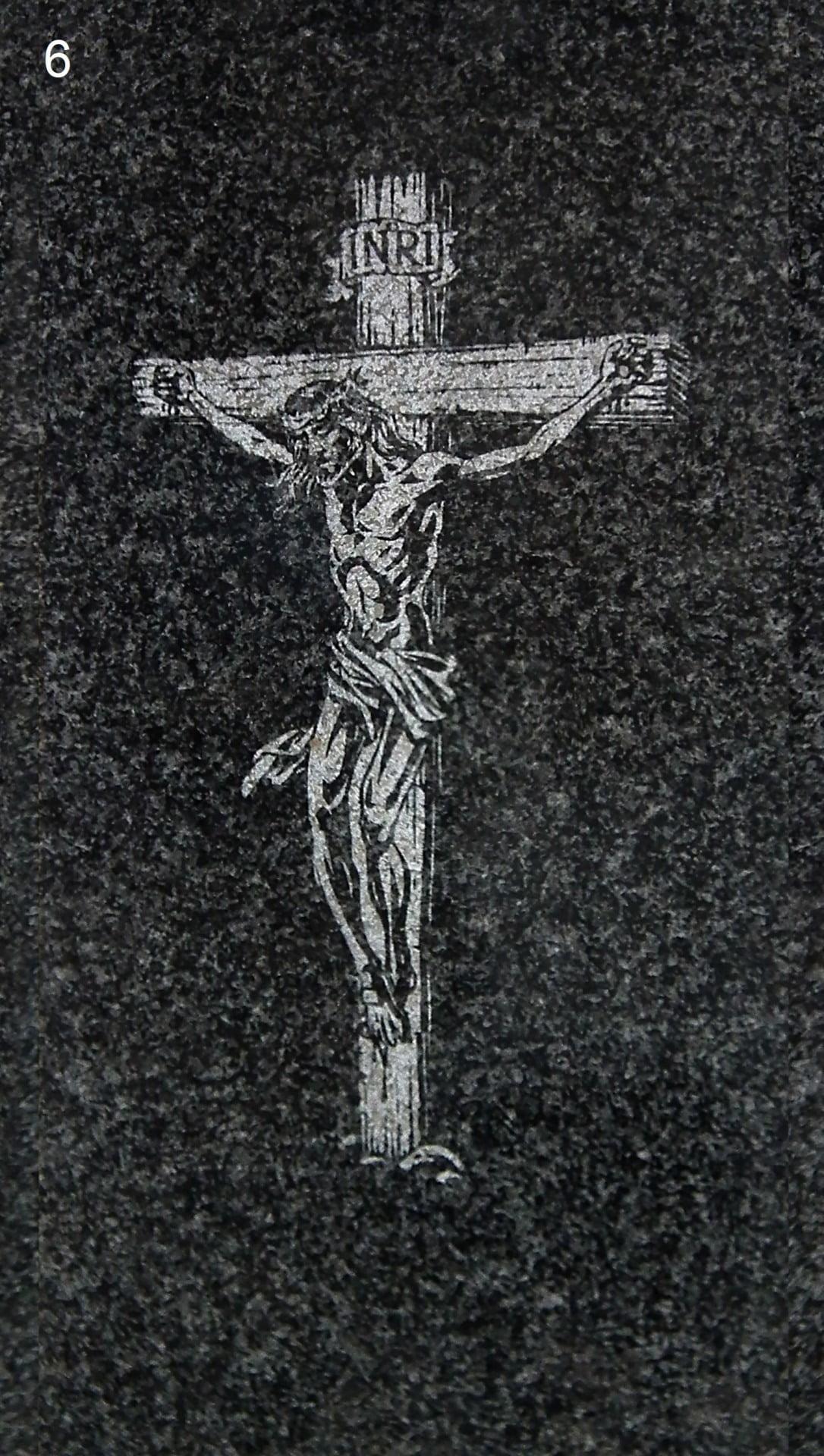 Jezus na krzyżu - Nagrobki Bielsko-Biała
