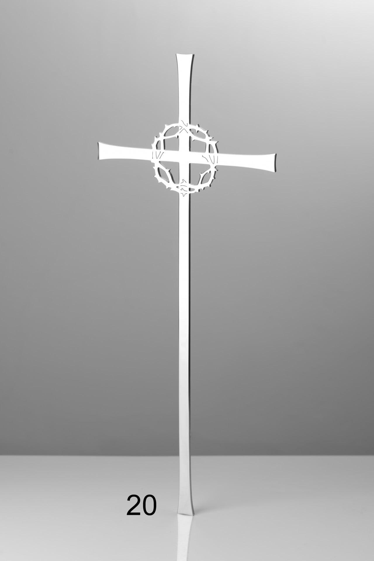 Krzyż z koroną cierniową - Nagrobki Bielsko-Biała