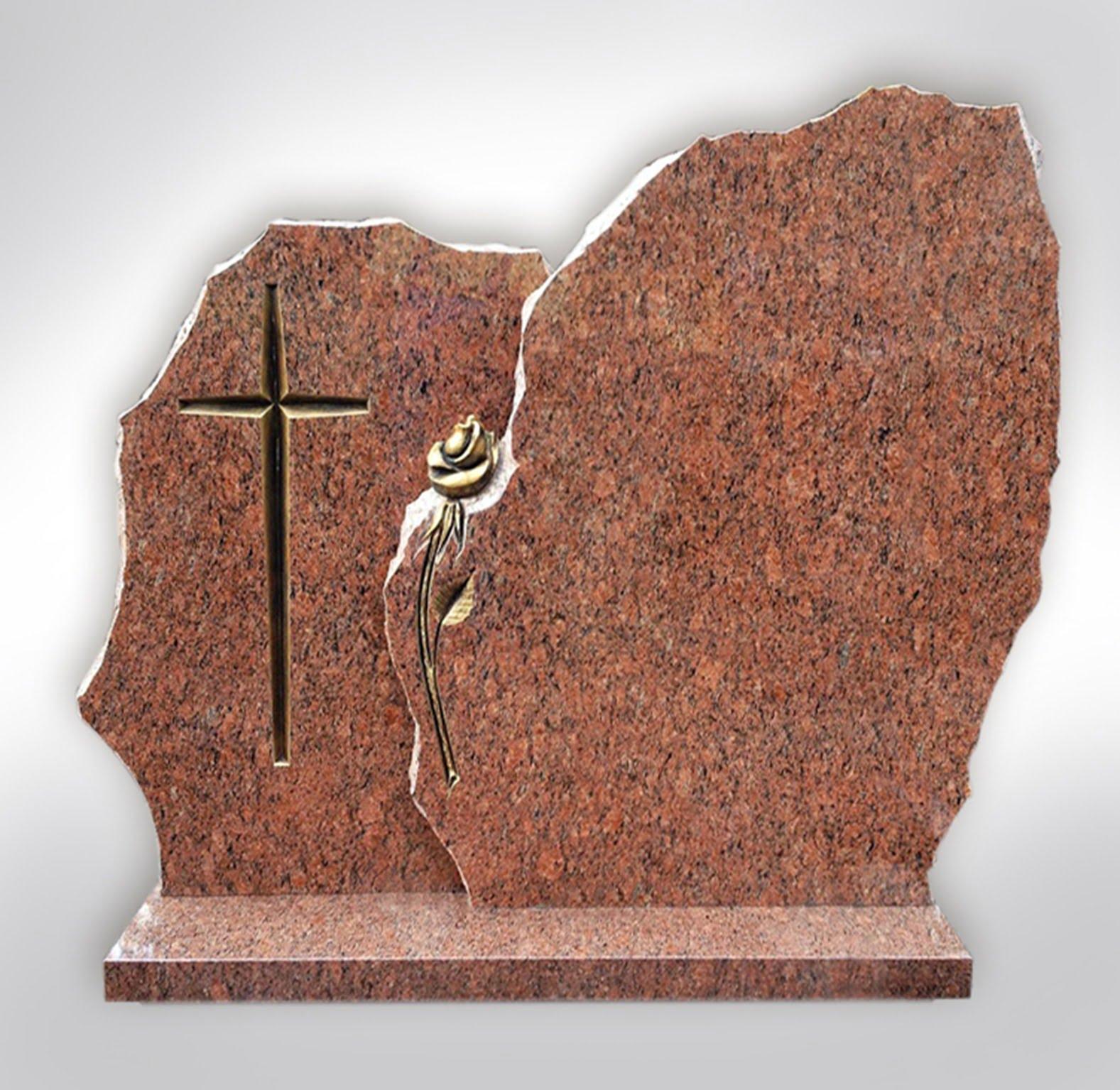 Marmurowa płyta nagrobkowa - Nagrobki Bielsko-Biała