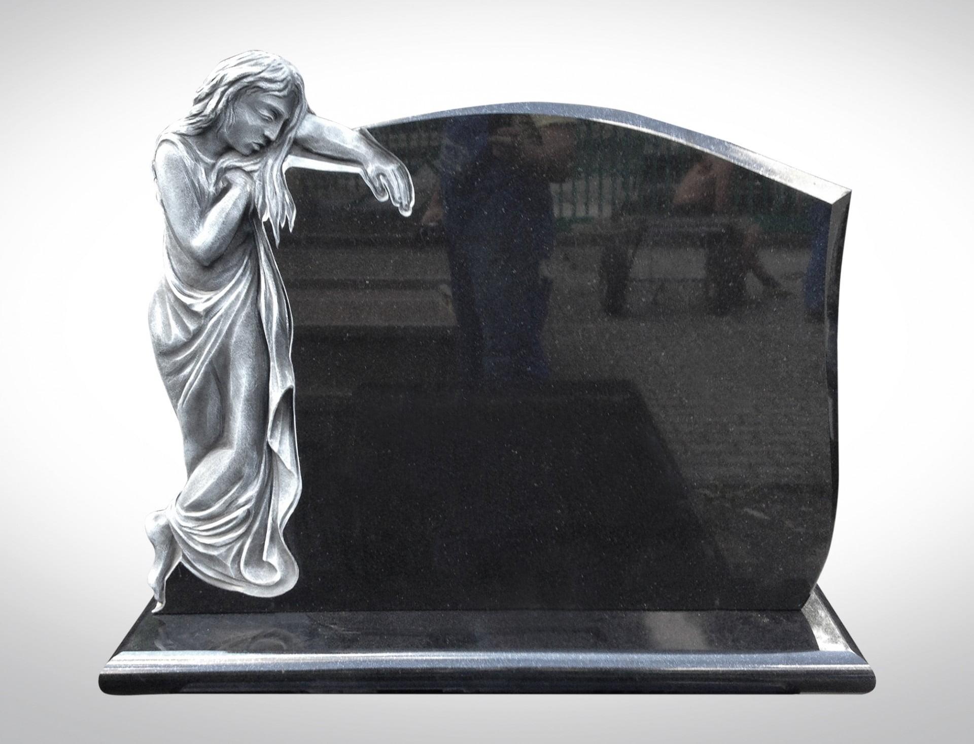 Srebrna figura - Nagrobki Bielsko-Biała
